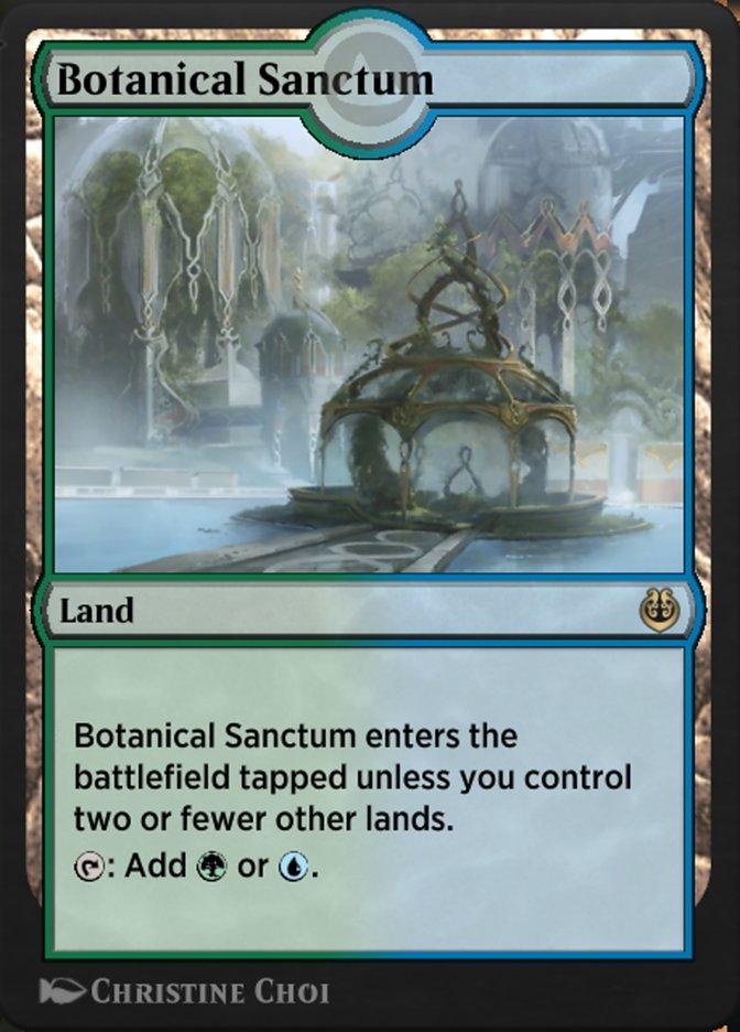 Carta /Botanical Sanctum de Magic the Gathering