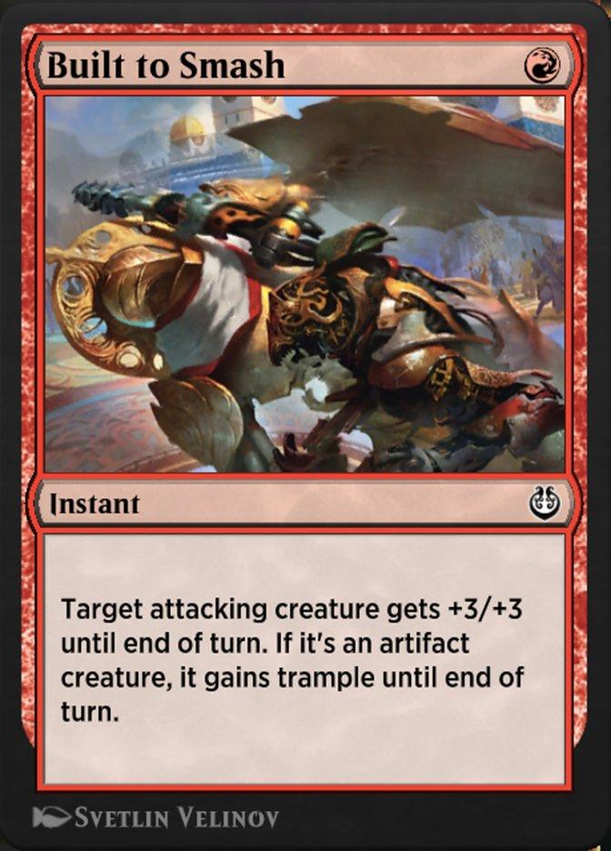 Carta /Built to Smash de Magic the Gathering
