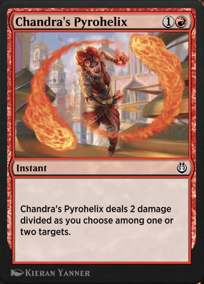 Carta /Chandra's Pyrohelix de Magic the Gathering
