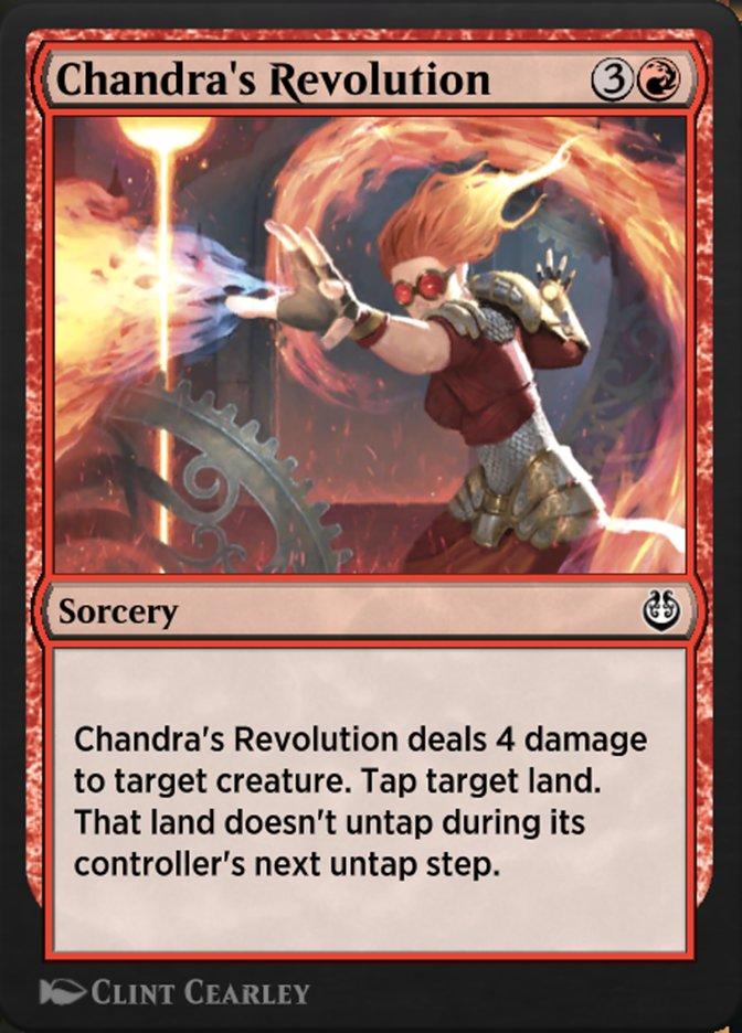 Carta /Chandra's Revolution de Magic the Gathering