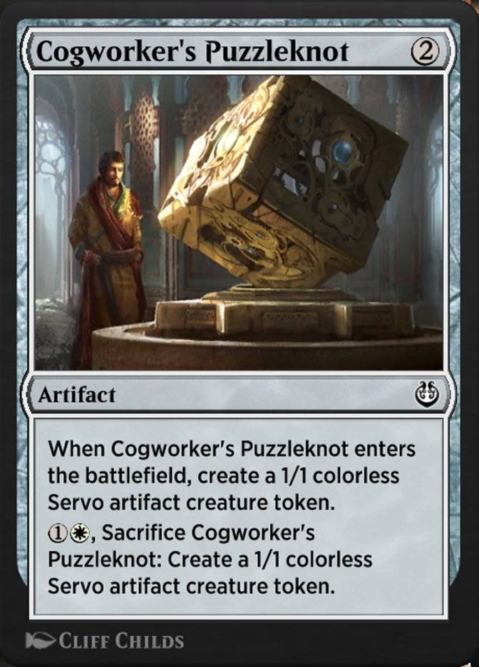 Carta /Cogworker's Puzzleknot de Magic the Gathering