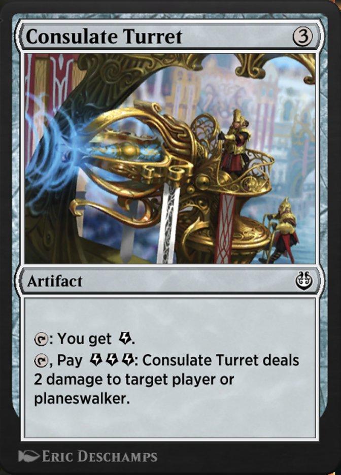 Carta /Consulate Turret de Magic the Gathering