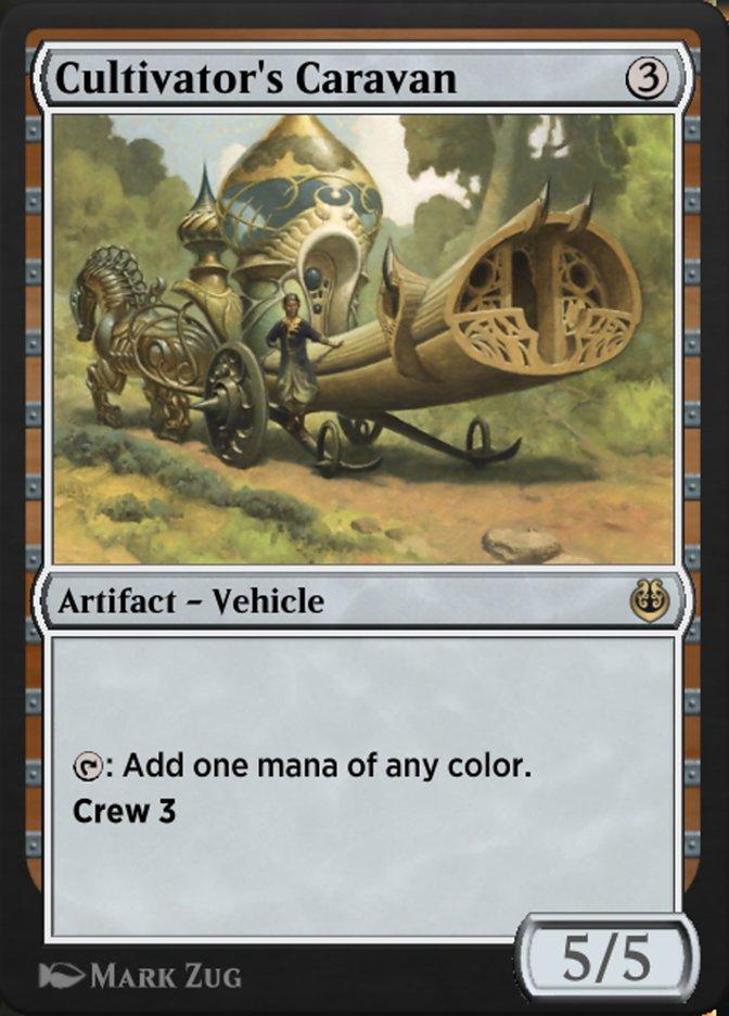 Carta /Cultivator's Caravan de Magic the Gathering