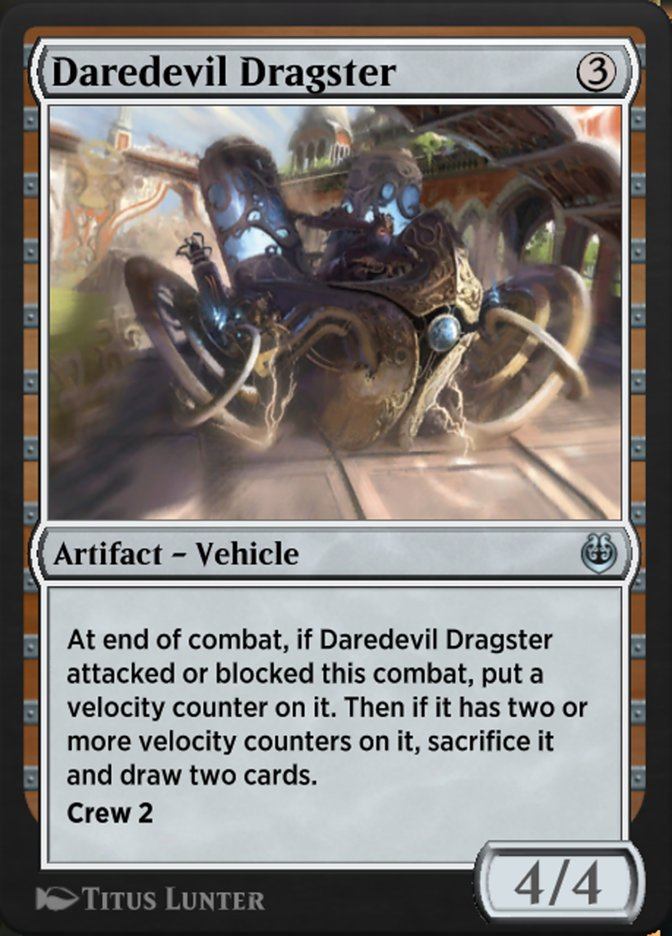 Carta /Daredevil Dragster de Magic the Gathering