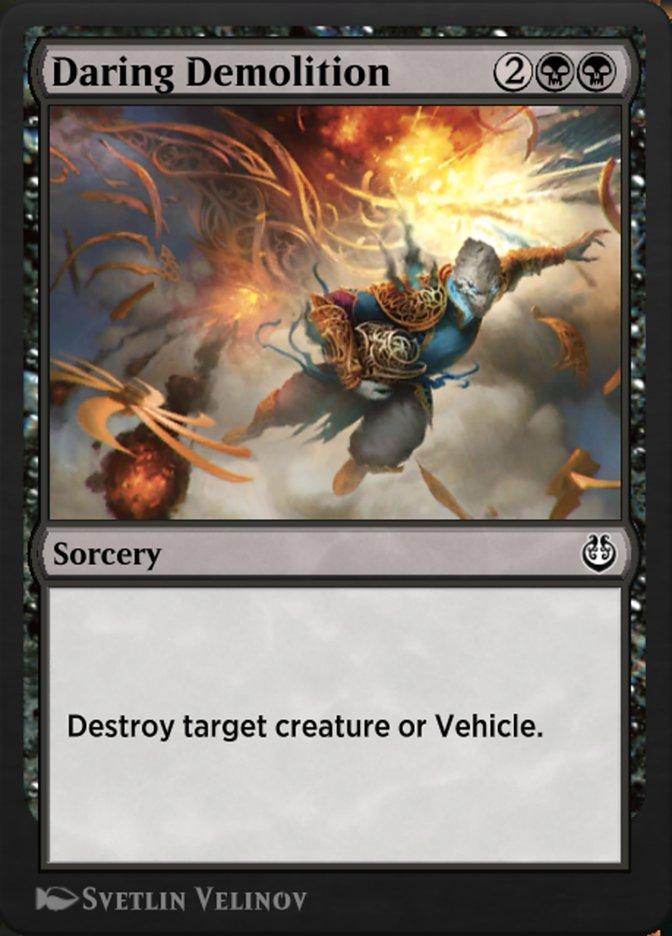 Carta /Daring Demolition de Magic the Gathering