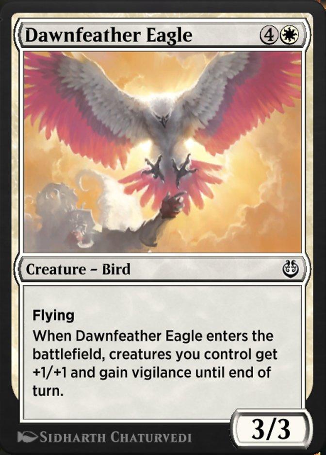 Carta /Dawnfeather Eagle de Magic the Gathering