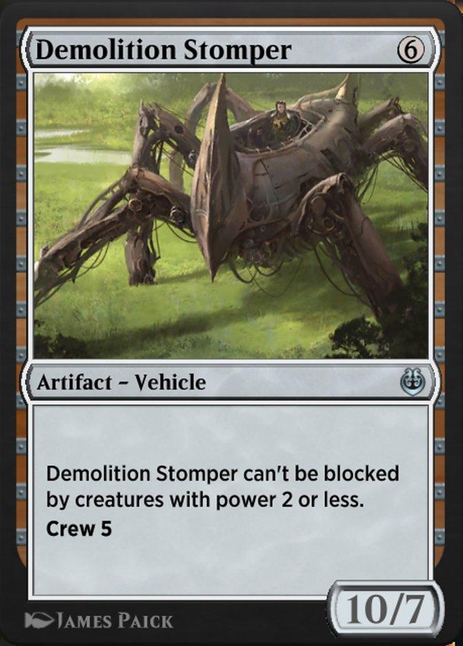 Carta /Demolition Stomper de Magic the Gathering