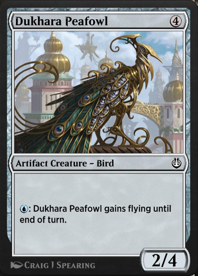 Carta /Dukhara Peafowl de Magic the Gathering