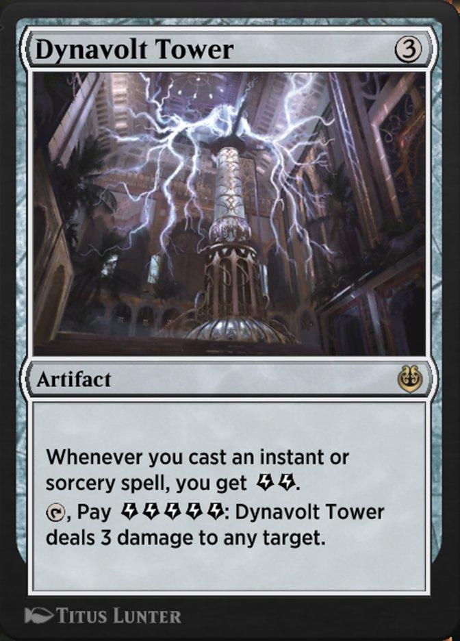 Carta /Dynavolt Tower de Magic the Gathering