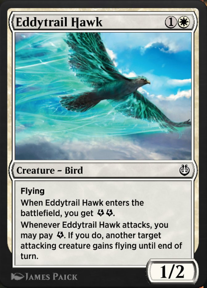 Carta /Eddytrail Hawk de Magic the Gathering