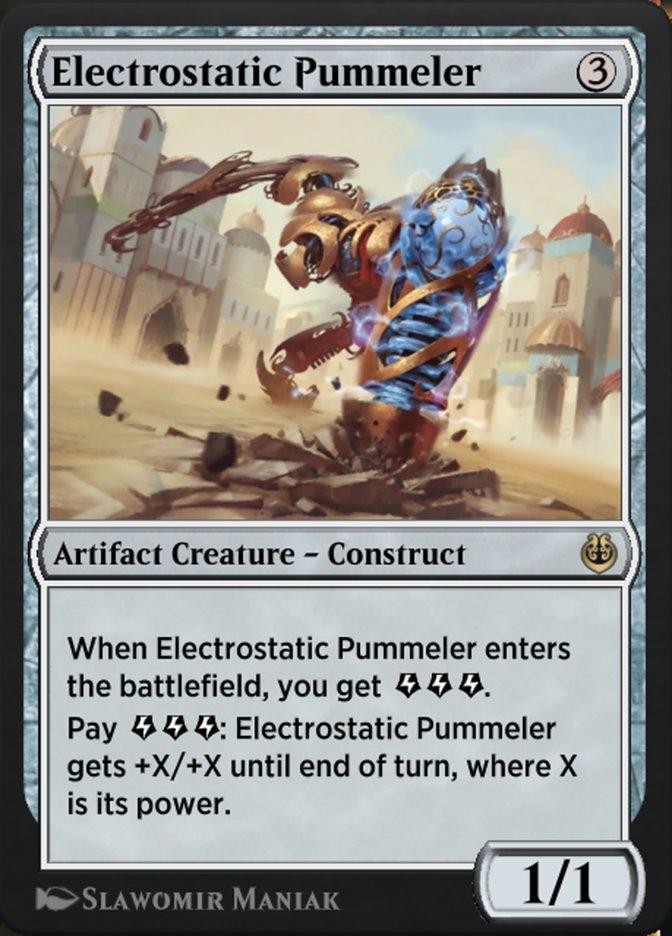 Carta /Electrostatic Pummeler de Magic the Gathering