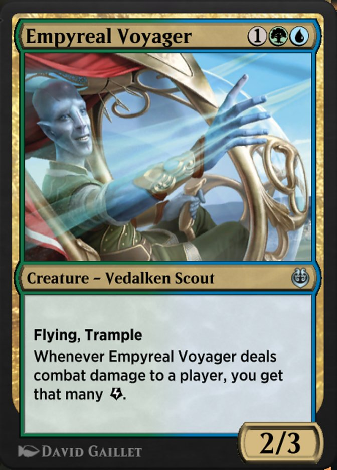 Carta /Empyreal Voyager de Magic the Gathering