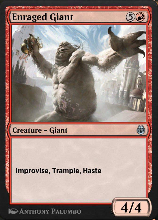 Carta /Enraged Giant de Magic the Gathering