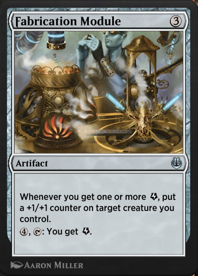 Carta /Fabrication Module de Magic the Gathering