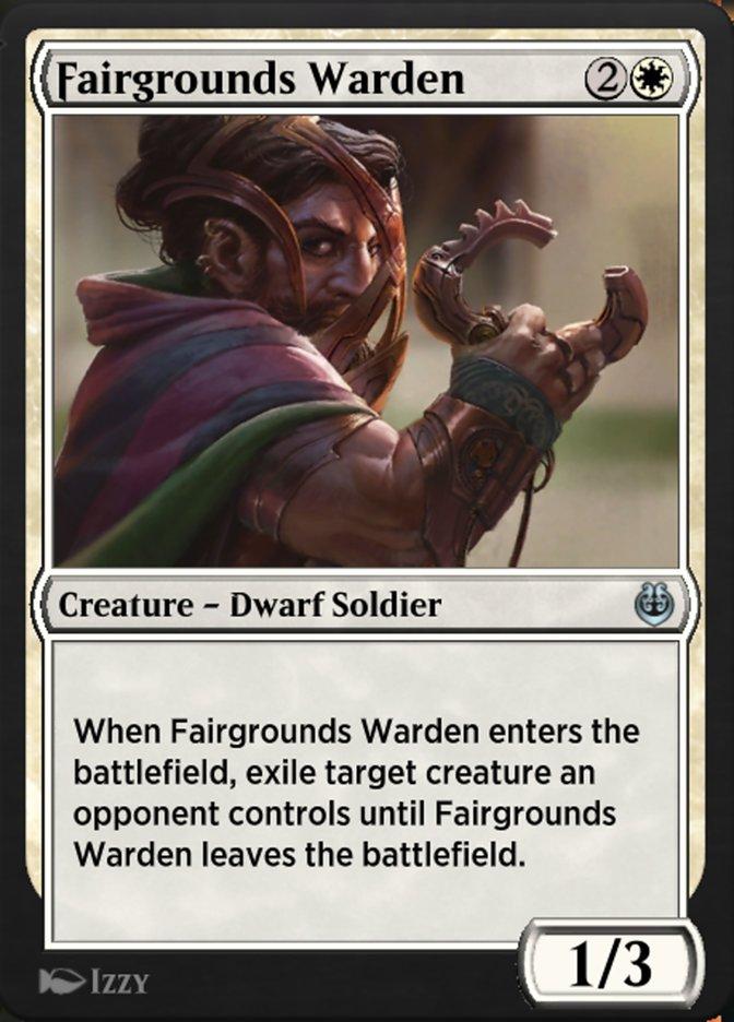 Carta /Fairgrounds Warden de Magic the Gathering