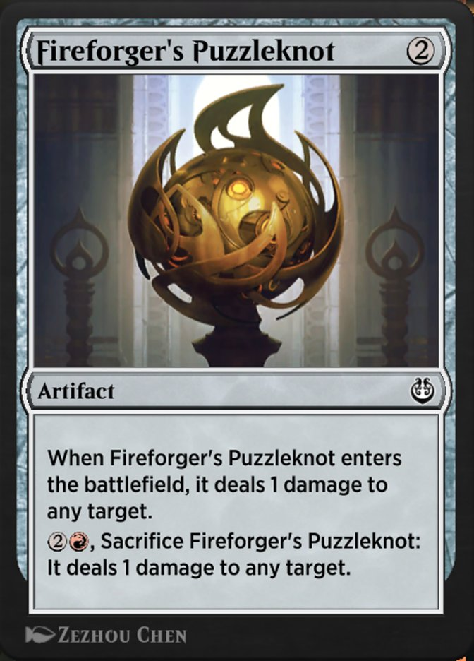 Carta /Fireforger's Puzzleknot de Magic the Gathering