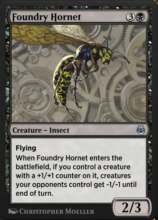 Carta /Foundry Hornet de Magic the Gathering