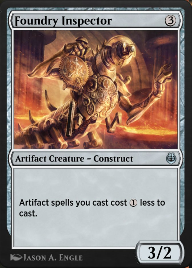 Carta /Foundry Inspector de Magic the Gathering