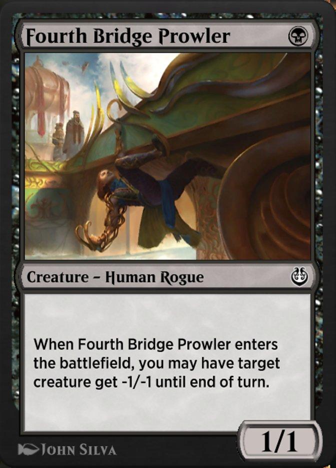 Carta /Fourth Bridge Prowler de Magic the Gathering