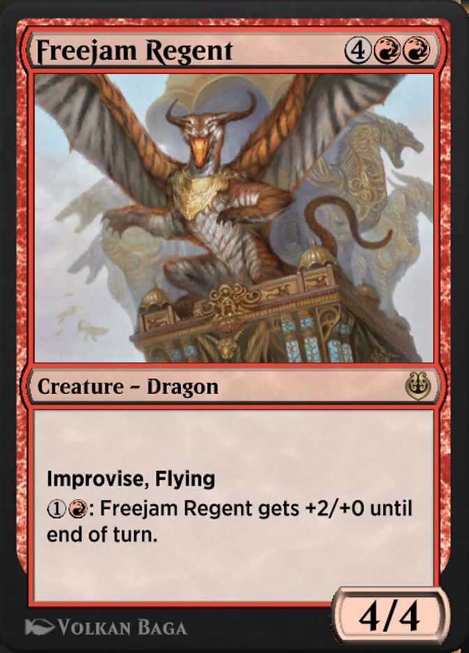 Carta /Freejam Regent de Magic the Gathering