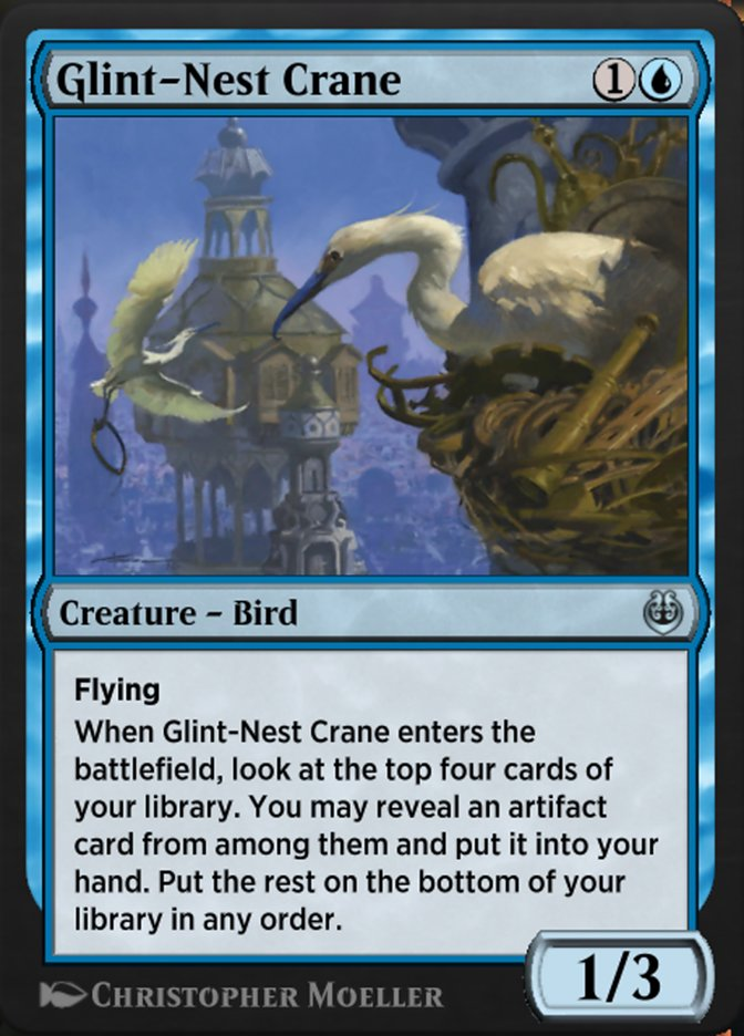 Carta /Glint-Nest Crane de Magic the Gathering