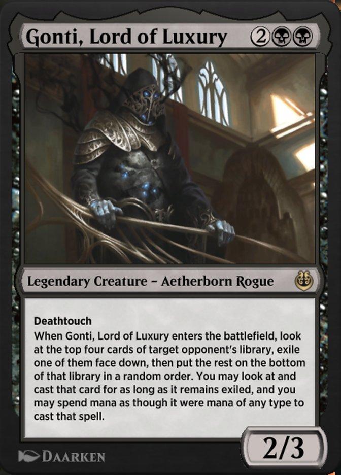 Carta /Gonti, Lord of Luxury de Magic the Gathering