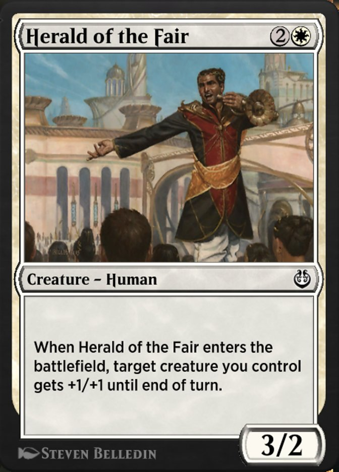 Carta /Herald of the Fair de Magic the Gathering