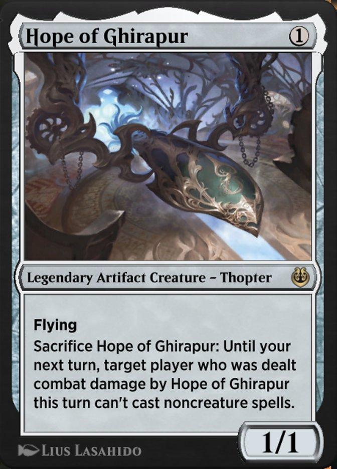 Carta /Hope of Ghirapur de Magic the Gathering