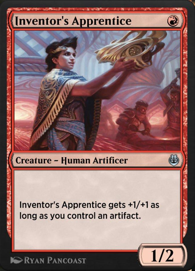 Carta /Inventor's Apprentice de Magic the Gathering