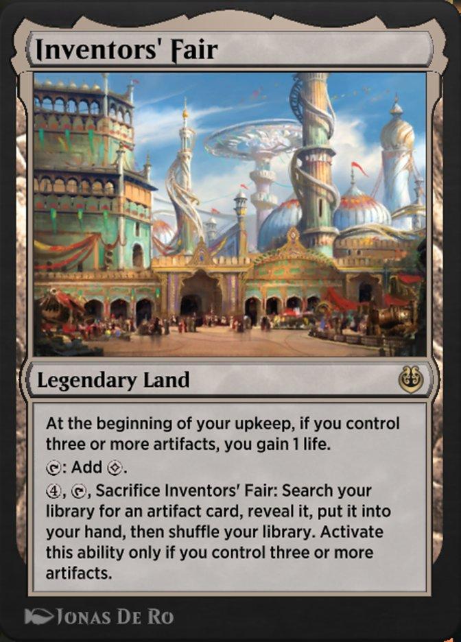 Carta /Inventors' Fair de Magic the Gathering
