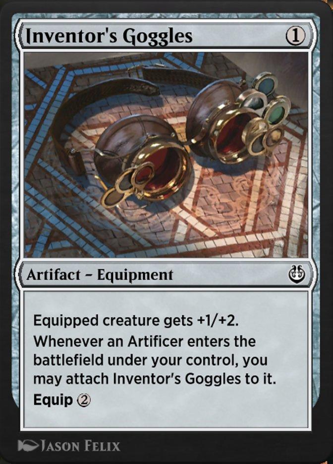 Carta /Inventor's Goggles de Magic the Gathering