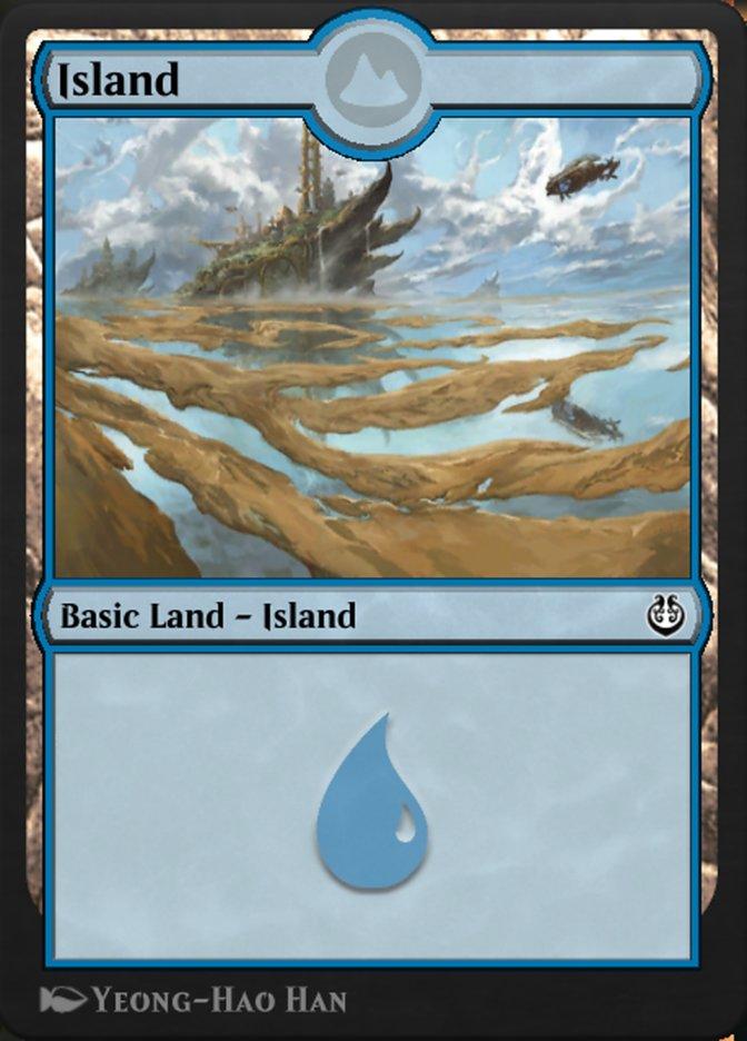 Carta /Island de Magic the Gathering