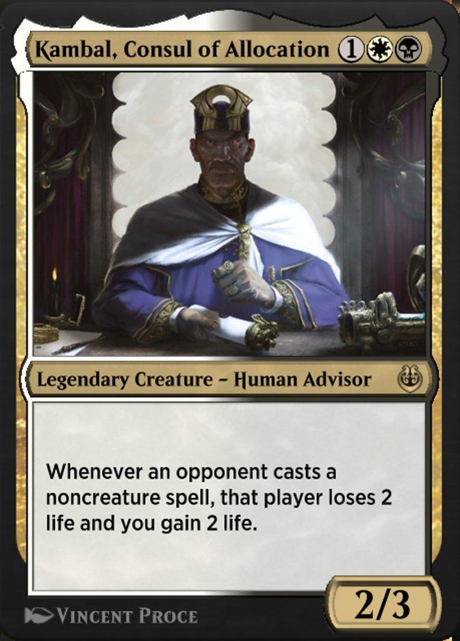 Carta /Kambal, Consul of Allocation de Magic the Gathering