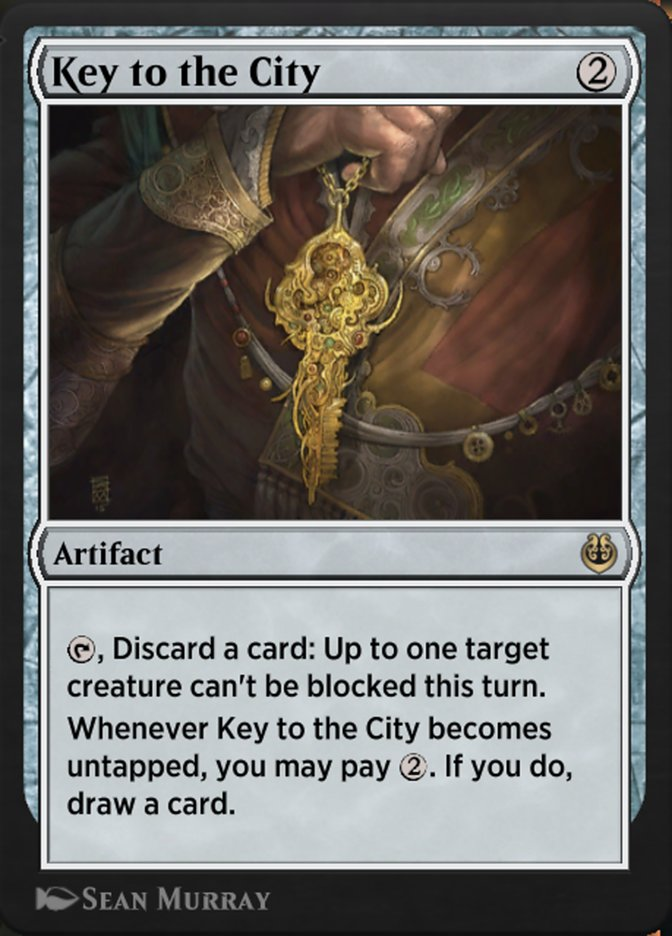Carta /Key to the City de Magic the Gathering