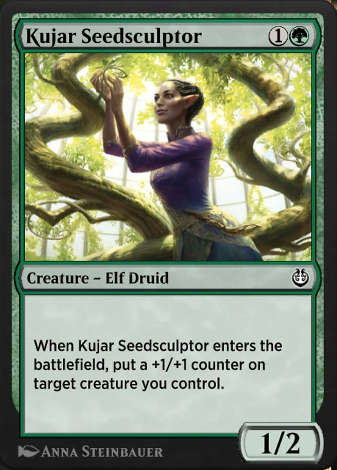 Carta /Kujar Seedsculptor de Magic the Gathering
