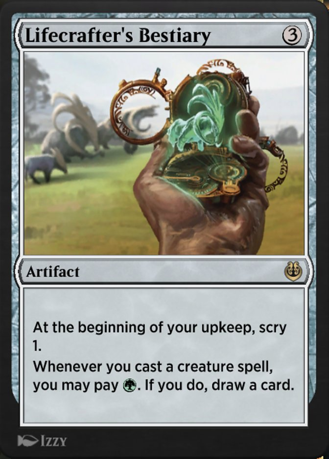 Carta /Lifecrafter's Bestiary de Magic the Gathering