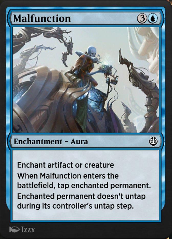 Carta /Malfunction de Magic the Gathering