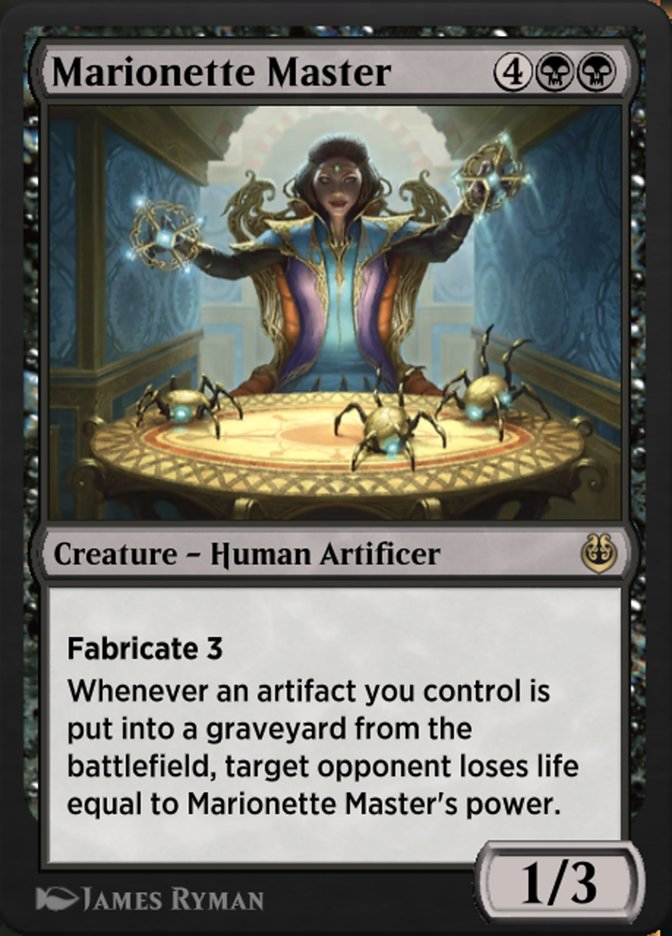 Carta /Marionette Master de Magic the Gathering