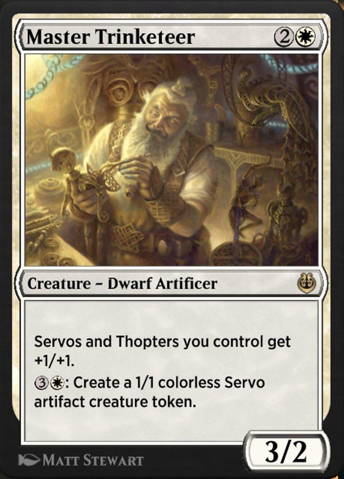 Carta /Master Trinketeer de Magic the Gathering