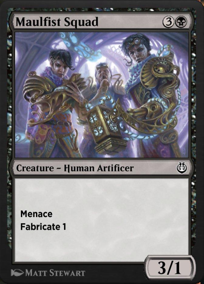 Carta /Maulfist Squad de Magic the Gathering