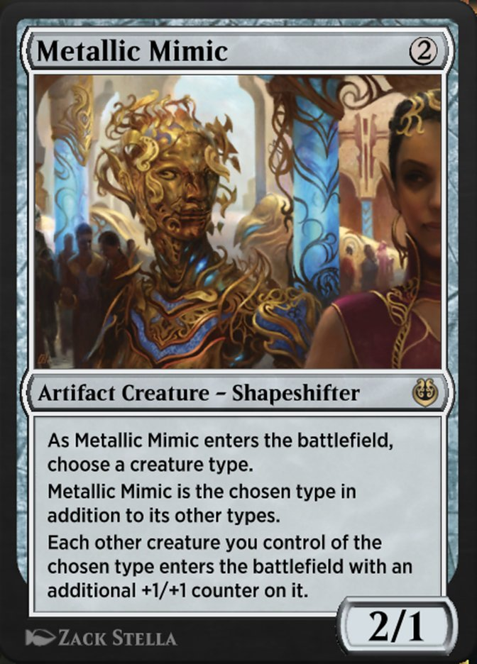Carta /Metallic Mimic de Magic the Gathering