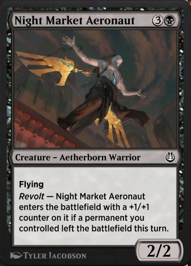 Carta /Night Market Aeronaut de Magic the Gathering