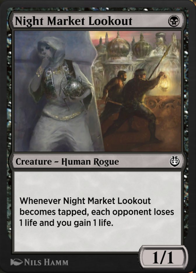 Carta /Night Market Lookout de Magic the Gathering
