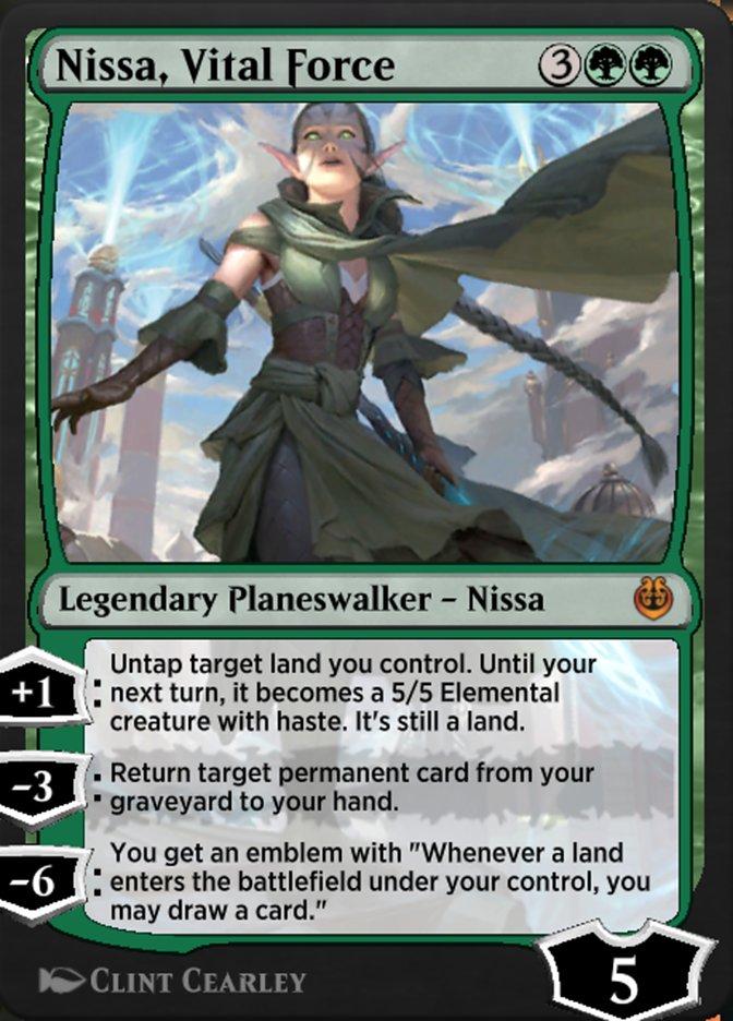 Carta /Nissa, Vital Force de Magic the Gathering