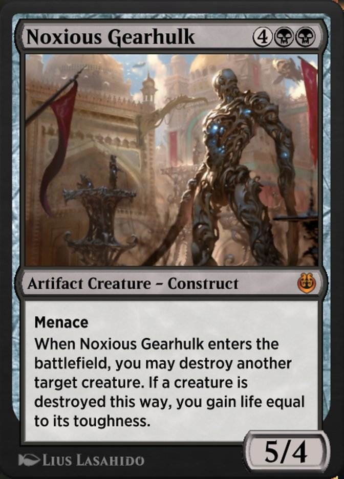 Carta /Noxious Gearhulk de Magic the Gathering