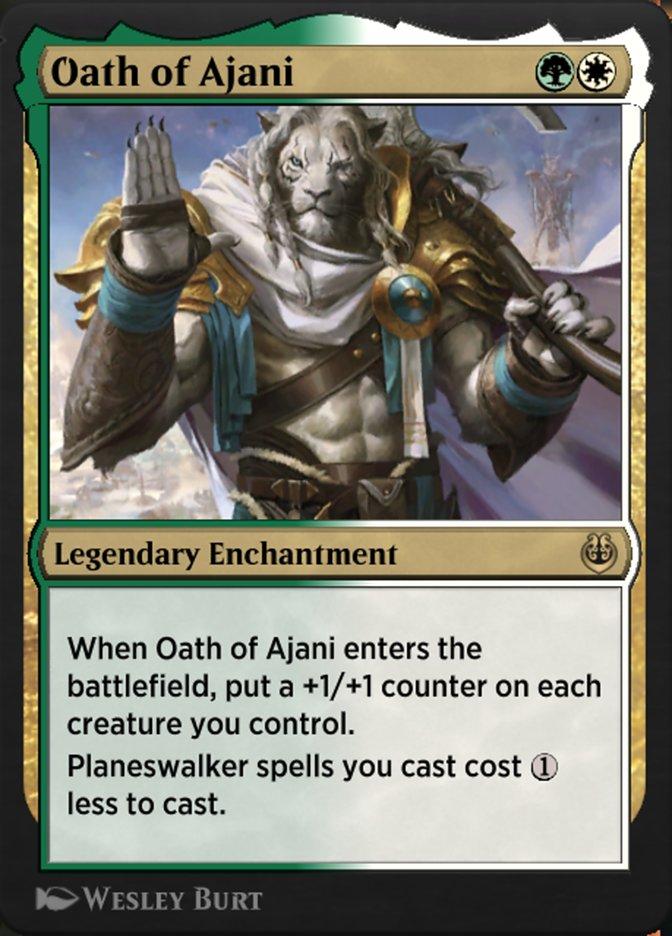 Carta /Oath of Ajani de Magic the Gathering