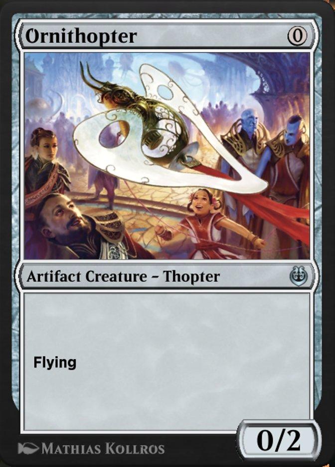 Carta /Ornithopter de Magic the Gathering