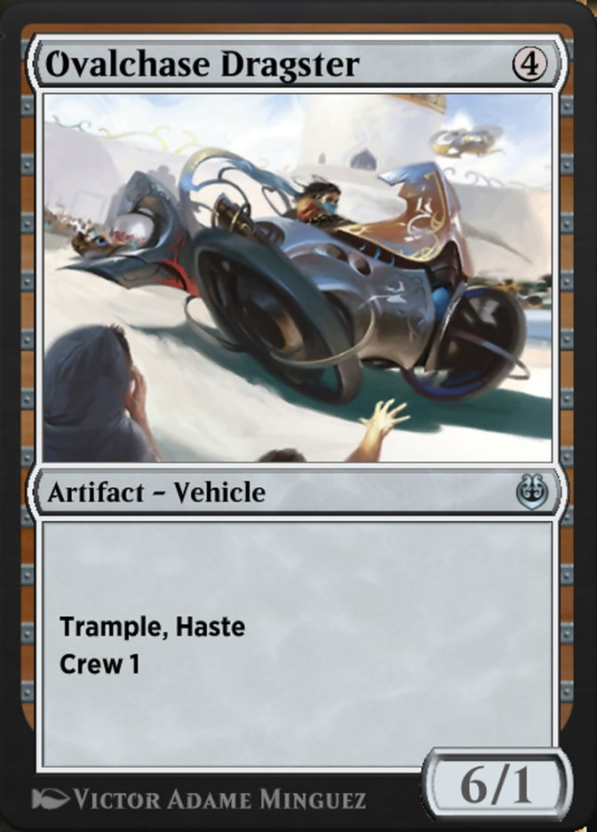 Carta /Ovalchase Dragster de Magic the Gathering