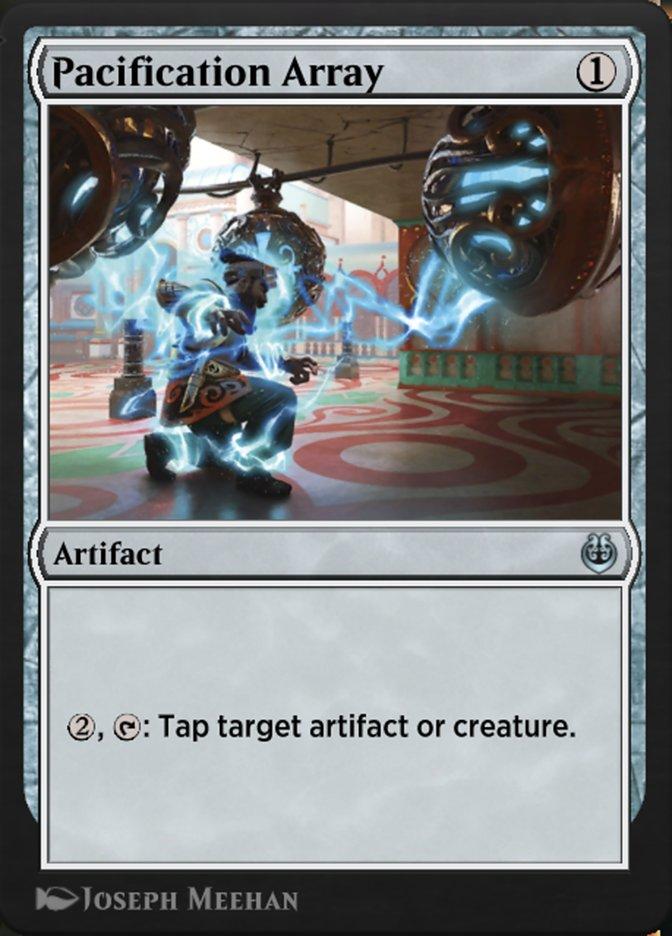 Carta /Pacification Array de Magic the Gathering