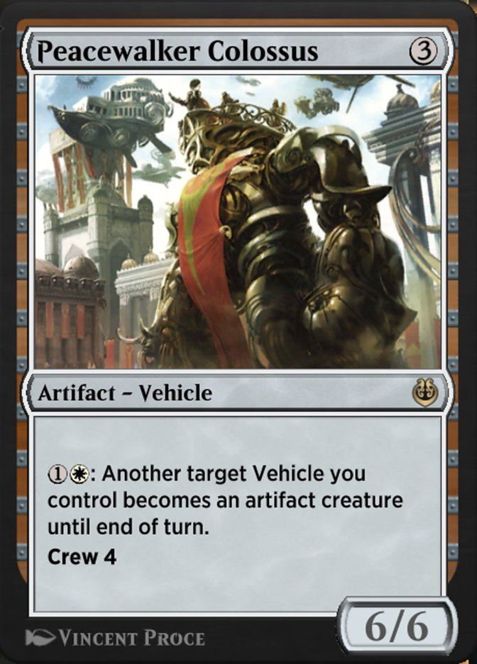 Carta /Peacewalker Colossus de Magic the Gathering